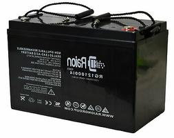 Raion Power 12V 100Ah Replacement Battery For Vision 6FM100E