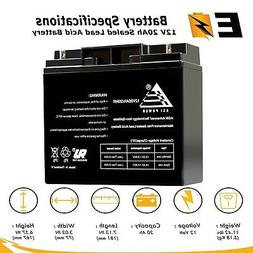 12V 20AH Sealed Lead Acid  Battery for MODIFIED POWER WHEELS