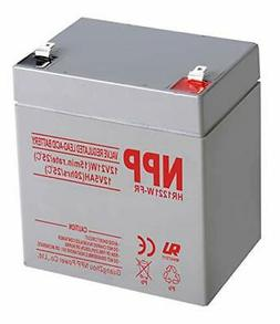 NPP 12V 5 Ah Special Size Rechargeable SLA Battery Replace 1