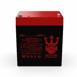 NEW 12V 5AH Sealed Lead Acid Battery for Alarm Systems and H