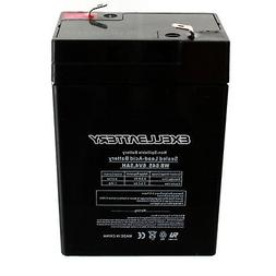 Battery 6V 4.5AH Sealed Lead Acid  for Snowmobiles and ATV