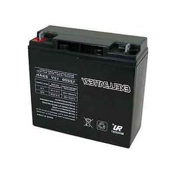 Exell 12V 22Ah Sealed Lead Acid Battery Rechargeable replace