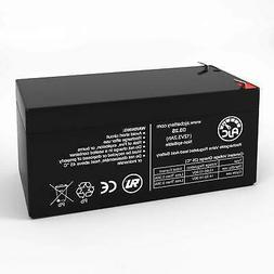 Vision CP1232 CP 1232 12V 3.2Ah Sealed Lead Acid Replacement