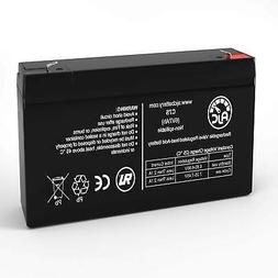 Vision CP670 6V 7Ah Sealed Lead Acid Replacement Battery