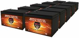 QTY10 VMAX V15-64 Sealed Lead Acid Battery for Hoveround Act