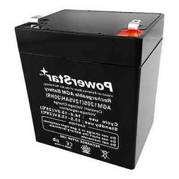 Rechargeable Replacement 12V 5AH 12 Volt 4.5 Amp Hour Sealed