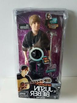Singing JUSTIN BIEBER - 2011 - Battery Operated NEW & SEALED