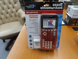 Texas Instruments TI-84 Plus CE Graphing Calculator Red FACT