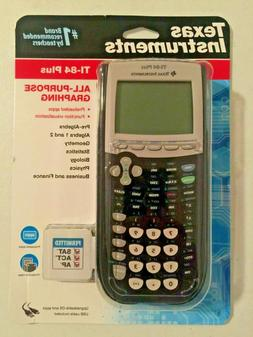 Ti-84 Plus New Factory SEALED LATEST MODEL Texas Instruments